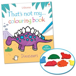 That's Not My... Colouring Book: Dinosaurs