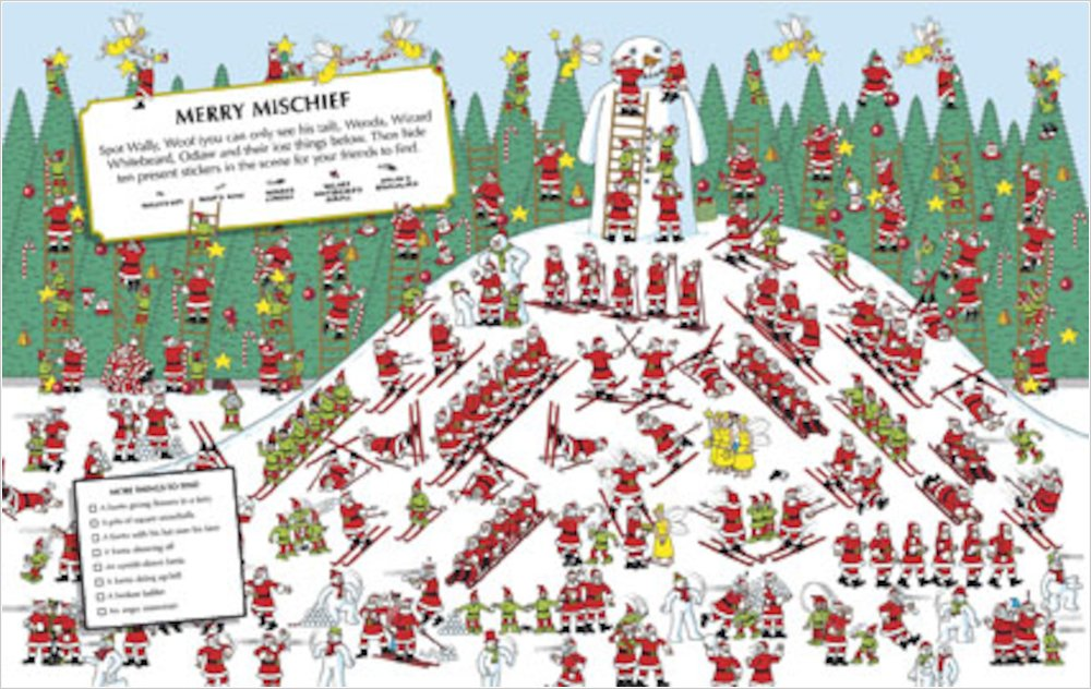 picture regarding Where's Waldo Pictures Printable referred to as Wheres Wally? Santa Remarkable - Scholastic Keep