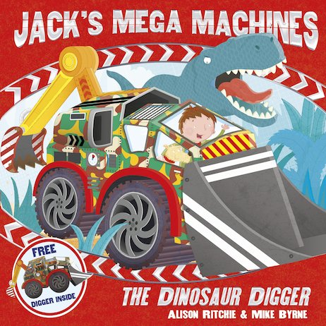 Jack's Mega Machines: The Dinosaur Digger