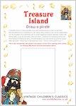 Treasure Island Draw a Pirate