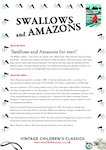 Swallows and Amazons Chatterpack (6 pages)