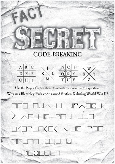 Secret Breakers Code Breaking