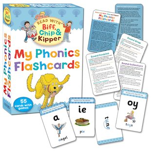 Read with Biff, Chip and Kipper: My Phonics Flashcards