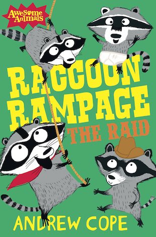 Awesome Animals: Raccoon Rampage - The Raid