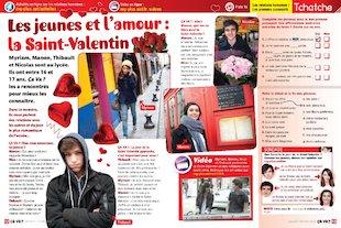 Les jeunes et l'amour : la Saint-Valentin