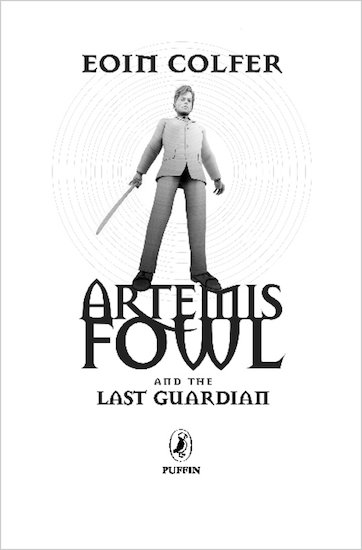 Artemis Fowl and the Last Guardian Sneak Preview