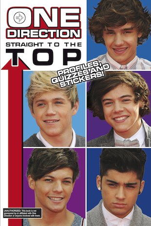 One Direction: Straight to the Top - Profiles, Quizzes and Stickers!