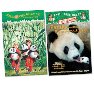 Magic Tree House: Panda Pair