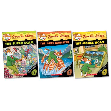 Geronimo Stilton: Mini Mystery Trio