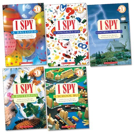 I Spy Readers Pack