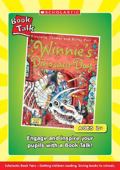 Book Talk - Winnie's Dinosaur Day