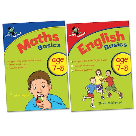 Leap Ahead Basics Pack: English and Maths (Ages 7-8)