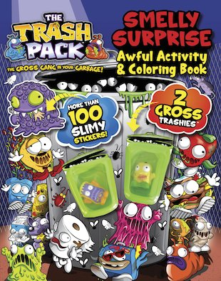 The Trash Pack: Smelly Surprise – Awful Activity and Colouring Book