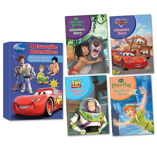 Disney: 4 Favourite Adventures Box Set