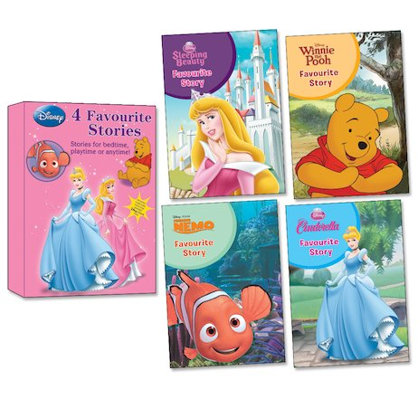 Disney: 4 Favourite Stories Box Set
