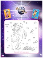 Strictly Come Dancing Colouring
