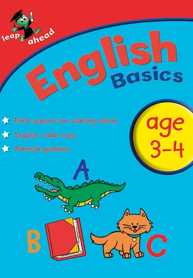 Leap Ahead: English Basics (Ages 3-4)