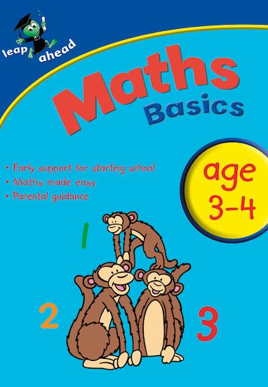 Leap Ahead: Maths Basics (Ages 3-4)