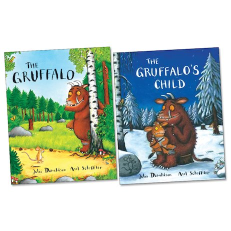 Gruffalo Board Book Pair