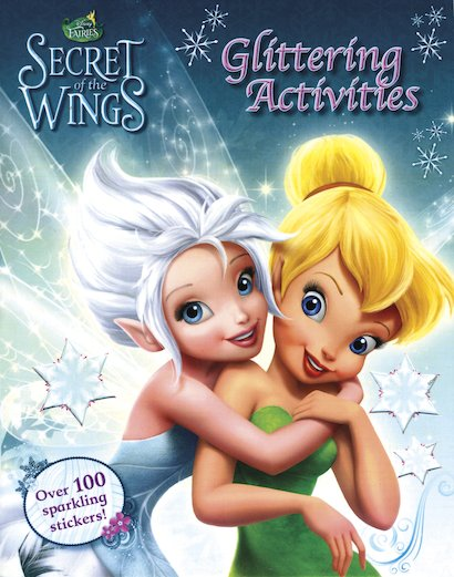 Disney Fairies: Secret of the Wings Glittering Activities