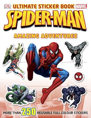 Spider-Man: Amazing Adventures Ultimate Sticker Book