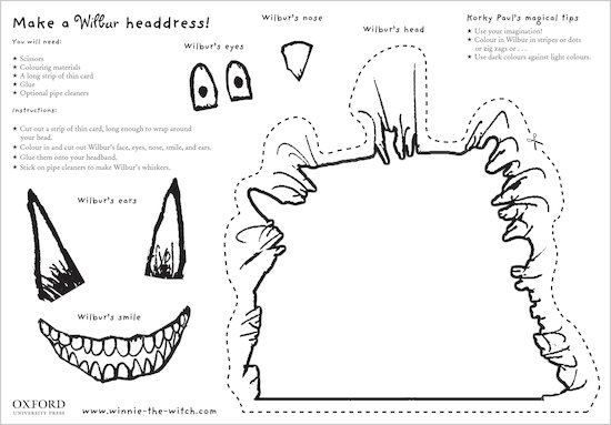 Make a Wilbur headdress