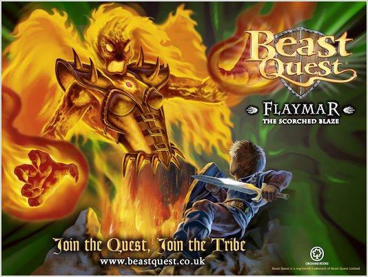 Beast Quest Flaymar *Free* Wallpaper