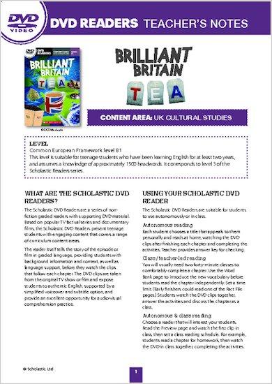 Brilliant Britain: Tea - Resource Notes