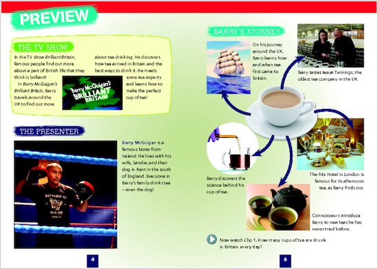 Brilliant Britain: Tea - Sample Page