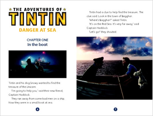 The Adventures of Tintin: Danger at Sea - Sample Chapter