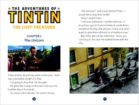 The Adventures of Tintin: The Lost Treasure - Sample Chapter