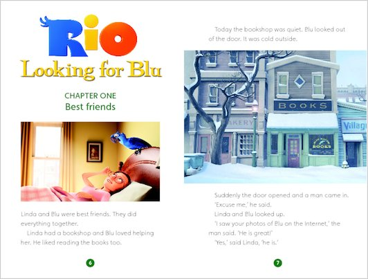 Rio: Looking for Blu - Sample Chapter
