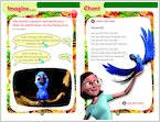 Rio: Learning to Fly - Sample Activity (1 page)