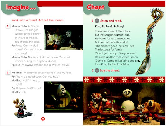 Kung Fu Panda Holiday - Sample Activity