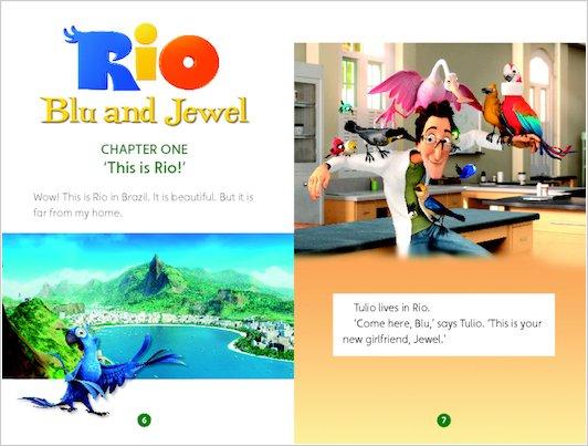 Rio: Blu and Jewel - Sample Chapter