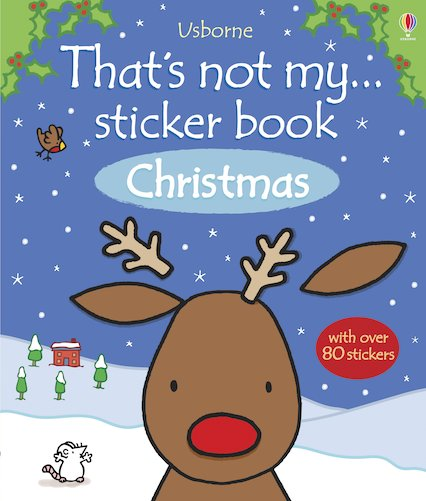That's Not My... Sticker Book: Christmas