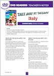 Take Away My Takeaway: Italy - Resource Sheets (5 pages)