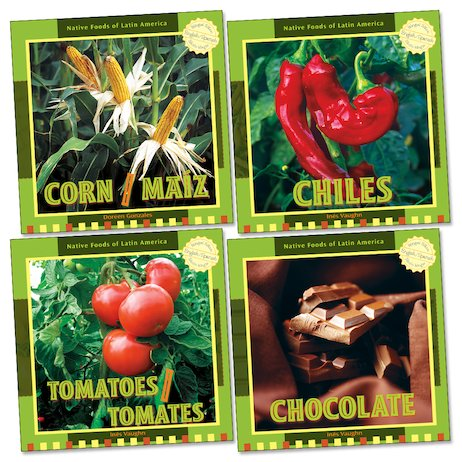 Alimentos nativos de Latinoaméricana (PK x4) / Native Foods of Latin America (PK x4)