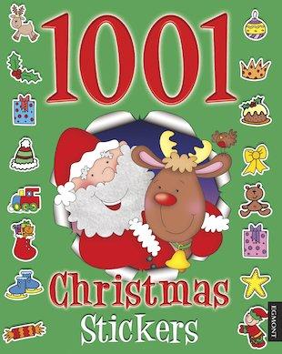 1001 Christmas Stickers