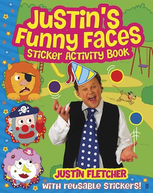 Justin's Funny Faces: Sticker Activity Book