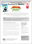 Kung Fu Panda Holiday: Teacher's Notes (18 pages)