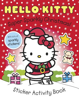 Hello Kitty: Super Sparkly Christmas! Sticker Book