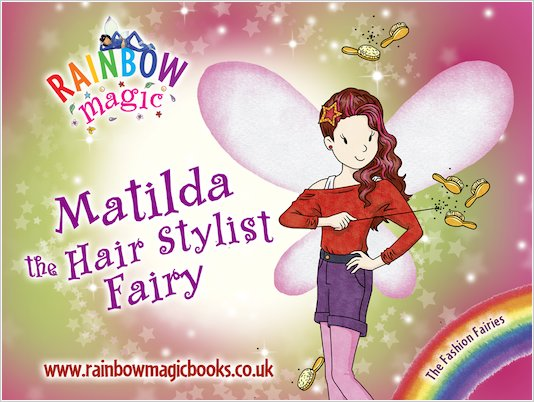 Rainbow Magic Fashion Fairies Matilda Wallpaper Scholastic