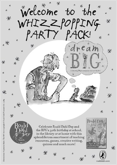Whizzpopping BFG Party Pack