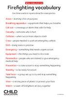 Firefighting vocabulary