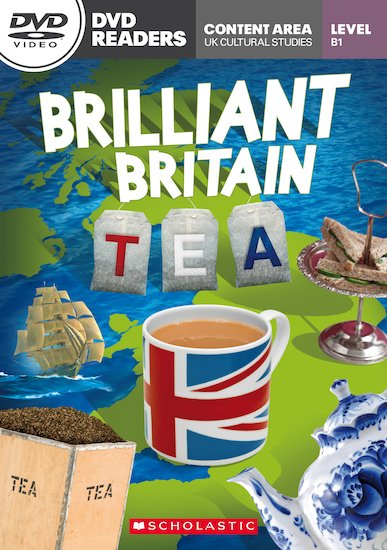 Brilliant Britain: Tea (Book and DVD)