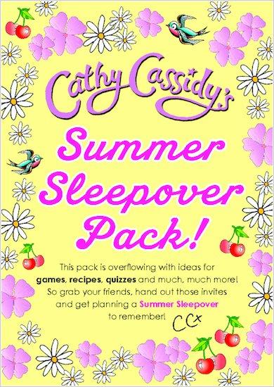 Cathy Cassidy Summer Sleepover Pack