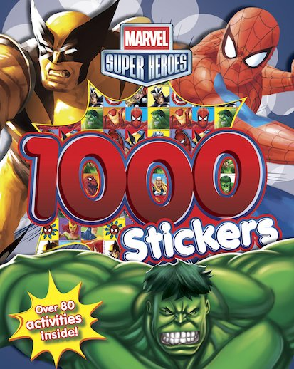 Marvel Super Heroes: 1000 Stickers
