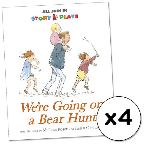 All Join In Story Plays: We're Going on a Bear Hunt x 4