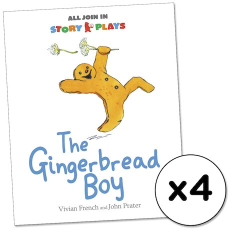 All Join In Story Plays: The Gingerbread Boy x 4